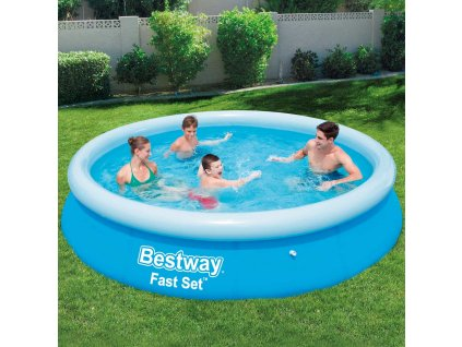 Nadzemní bazén s límcem Fast Set 366 x 76 cm BESTWAY