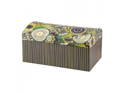 Lepenková krabička se zrcadlem Look Jungle 20 x 12 x 10,5 cm AMBITION