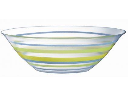 Salátová mísa Arty Azur-Yellow-Anis 27 cm LUMINARC