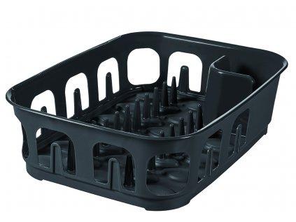 Odkapávač na nádobí Essentiale Dark Grey 39 x 29 x 10,1 cm CURVER