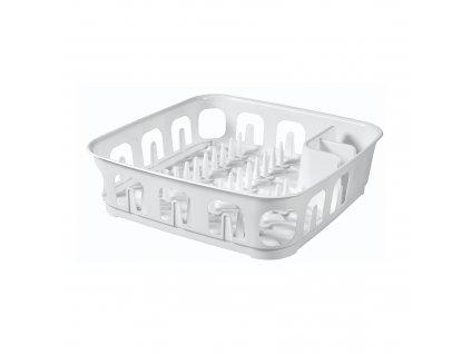 Odkapávač na nádobí Essentiale White 39 x 39 x 10,1 cm CURVER