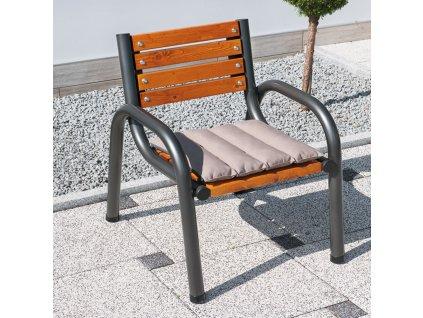 Dřevěná zahradní židle Park Plus 65 x 74 x 86 cm PATIO