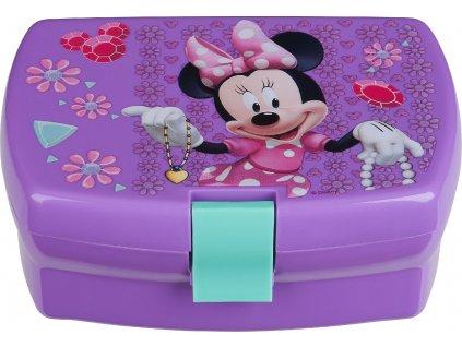 Svačinový box Minnie Violet DISNEY