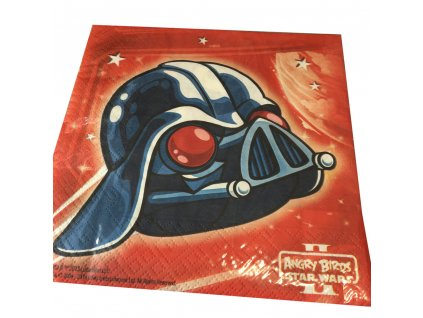 Sada 20 ubrousků Angry Birds Star Wars 33 x 33 cm DISNEY