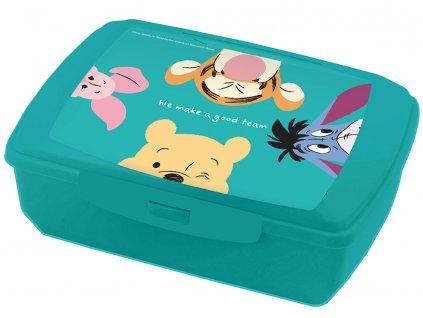 Svačinový box Medvídek Pú a přátelé 20 x 13 cm DISNEY