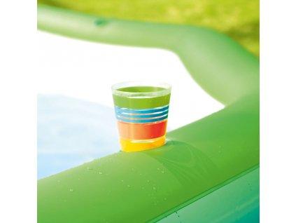 Nafukovací bazén Deluxe Octagon 251 x 251 x 51 cm BESTWAY
