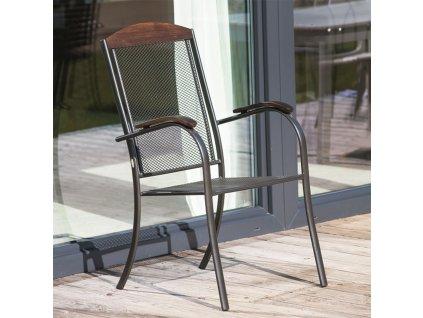 Kovová zahradní židle Venus PATIO