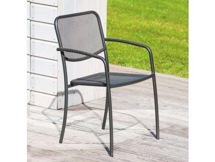 Kovová zahradní židle Vinci PATIO