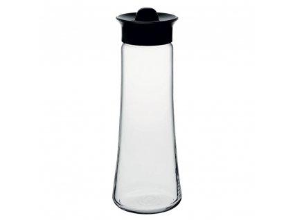 Karafa Basic Black na vodu / štávu 1 l PASABAHCE