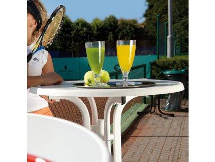 Zahradní stůl Dine & Relax Marble 70 cm PATIO