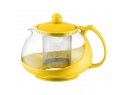 Džbánek se sítkem na zapařování Bistro Yellow 750 ml DOMOTTI