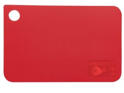 Prkénko na krájení Molly Red 24,5 x 16 cm AMBITION