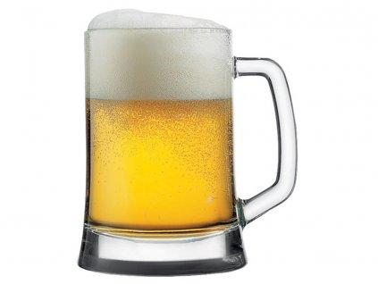Půllitr na pivo Bremen Pub Star 615 ml PASABAHCE