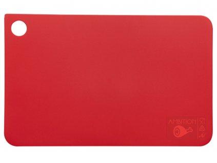 Prkénko na krájení Molly Red 31,5 x 20 cm AMBITION