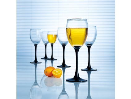 Sada 6 sklenic na bílé víno Domino 190 ml LUMINARC