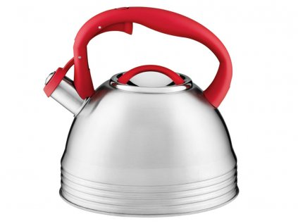 Nerezový čajník James Red 3,5 l AMBITION