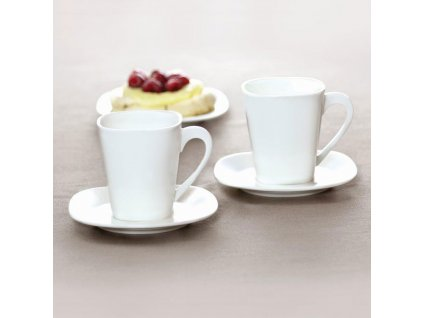 Kávový servis Kubiko / Fala 220 ml 12-dílů  AMBITION