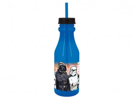 Láhev s brčkem Star Wars 500 ml DISNEY
