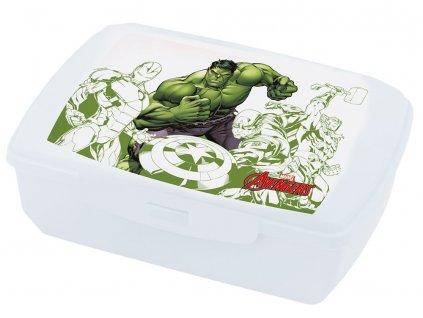 Svačinový box Avengers Hulk 20 x 13 cm MARVEL