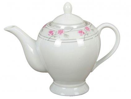 Porcelánový džbánek Rose 1,1 l