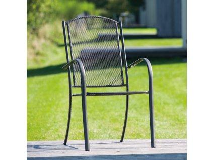 Kovová zahradní židle Opal PATIO