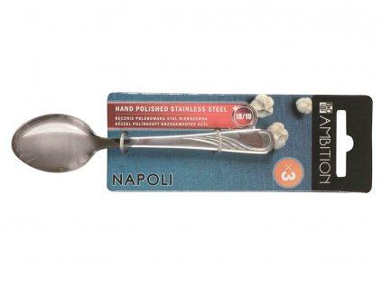 Sada 3 čajových lžiček Napoli 13,7 cm  AMBITION