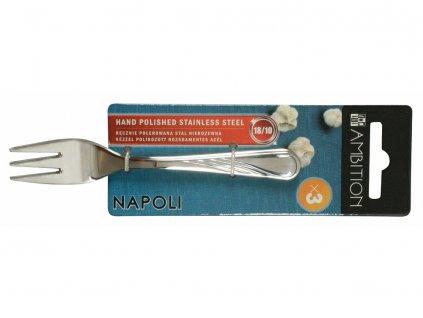 Sada 3 dezertních vidliček Napoli 13,5 cm AMBITION