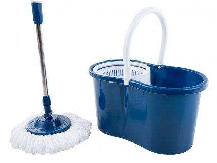 Rotační mop Blue s dvěma koncovkama