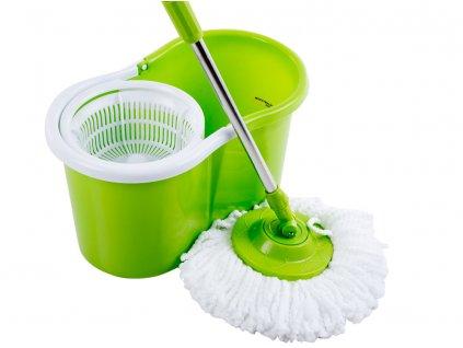 Rotační mop Green s dvěma koncovkama