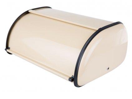 Nerezový chlebník Cream 35,5 x 23 x 14,5 cm