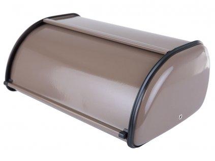 Nerezový chlebník Brown 35,5 x 23 x 14,5 cm