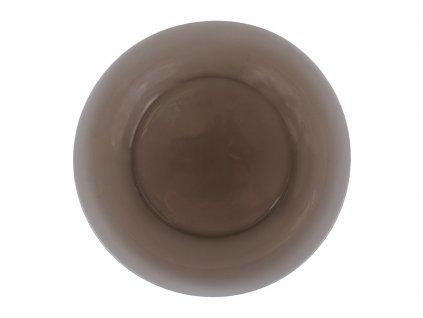 Mělký talíř z kouřového skla Ambiante 25 cm LUMINARC