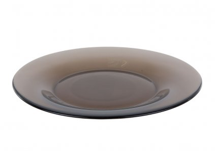 Dezertní talíř z kouřového skla Ambiante 19,6 cm LUMINARC