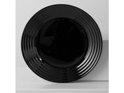 Dezertní talíř Harena Black 19 cm LUMINARC