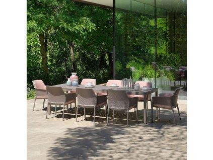 Plastová zahradní židle Net Tortora NARDI