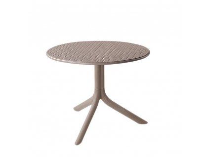 Plastový zahradní stůl Step Tortora 60,5 cm NARDI
