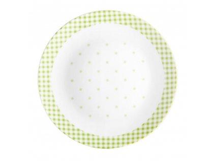 Dezertní talíř Breakfast Green 20 cm DOMOTTI