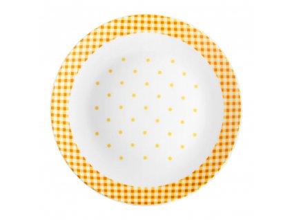 Dezertní talíř Breakfast Orange 20 cm DOMOTTI
