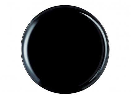 Mělký talíř Pizza Friends Time Black 32 cm LUMINARC
