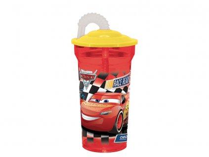 Láhev se slámkou Cars III. 350 ml DISNEY