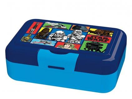 Svačinový box Star Wars Saturn Comics 16,5 x 11,5 x 5,5 cm DISNEY