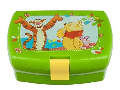 Svačinový box Medvídek Pú 16,5 x 11,5 cm DISNEY