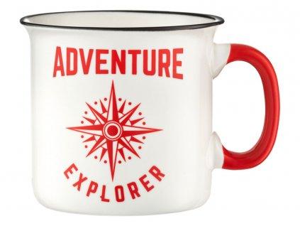 Porcelánový hrnek Adventure Explorer 510 ml AMBITION