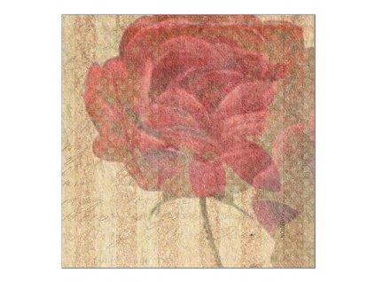 Sada 6 podložek na stůl z korku Arte Rose 10 x 10 cm AMBITION