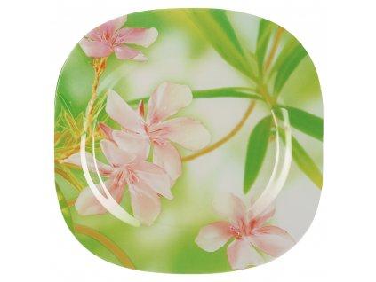 Mělký talíř Freesia 27 x 27 cm LUMINARC