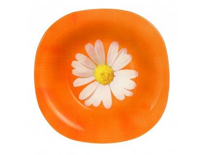 Hluboký talíř Paquerette Melon 20,5 x 20,5 cm LUMINARC (04015)