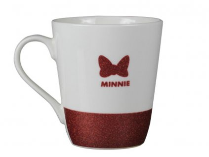 Porcelánový hrnek Minnie Elegant and Cute 400 ml DISNEY
