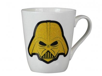 Porcelánový hrnek Vader Brokat Gold 400 ml STAR WARS