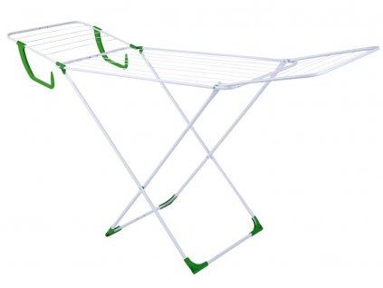 Sušák na prádlo Oliwia White / Green 183 x 55 x 99 cm JOTTA