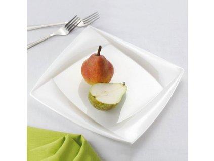 Sada 2 mělkých talířů Diva 25,5 x 25,5 cm AMBITION